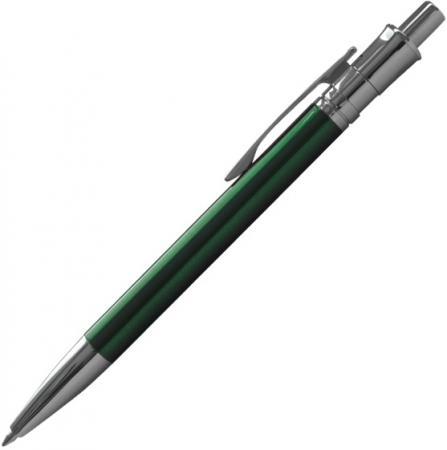 Шариковая ручка автоматическая Index IMWT1143/GN синий 0.5 мм