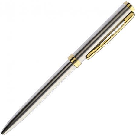 Шариковая ручка автоматическая Index IMWT200/SL-GD синий 0.7 мм IMWT200/SL-GD