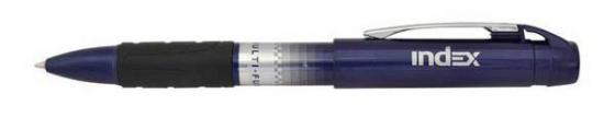 Ручка многофункциональная автоматическая Index IMWT1436 синий автокарандаш IMWT1436 канцелярия index точилка автоматическая