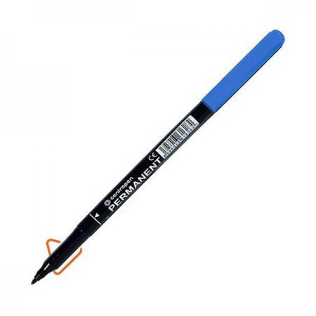 Маркер перманентный Centropen 2536/1C синий 2536/1C маркер перманентный centropen 2536 1к 1 мм красный