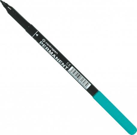 Маркер перманентный Centropen 2536/1З 1 мм зеленый маркер перманентный centropen 2536 1к 1 мм красный