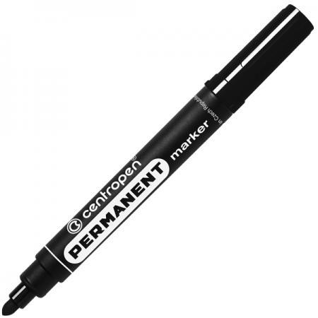 Маркер перманентный Centropen 8566/Ч черный 8566/Ч цена и фото