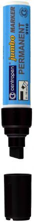 Маркер перманентный Centropen JUMBO 10 мм черный 9110/Ч маркер флуоресцентный centropen 8722 1о оранжевый 8722 1о