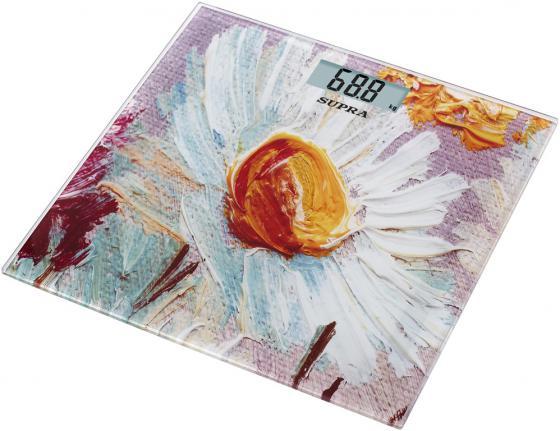 Весы напольные Supra BSS-5002 рисунок весы supra bss 2003 до 180кг цвет белый рисунок [10899]