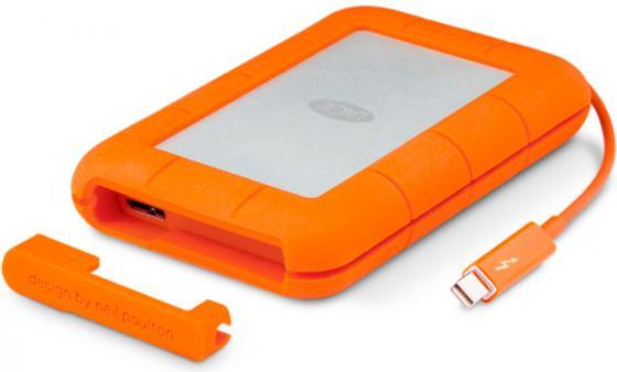 "все цены на Внешний жесткий диск 2.5"" USB3.0 2Tb Lacie Thunderbolt Rugged v2 STEV2000400 оранжевый онлайн"