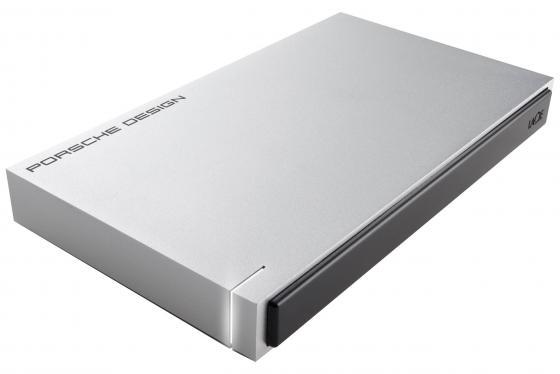 """Внешний жесткий диск 2.5"""" USB3.0 1Tb Lacie Porsche Design STET1000400 серебристый цена и фото"""