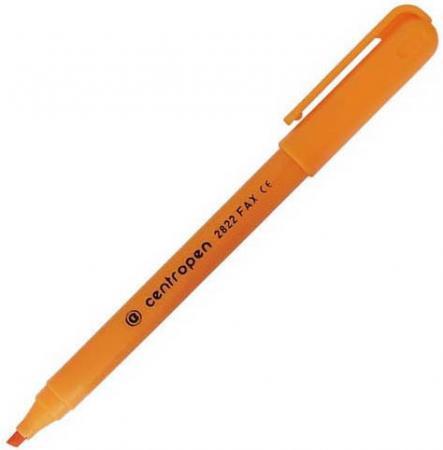 Маркер флуоресцентный Centropen 2822/1О 1 мм оранжевый маркер флуоресцентный centropen 8722 1о оранжевый 8722 1о