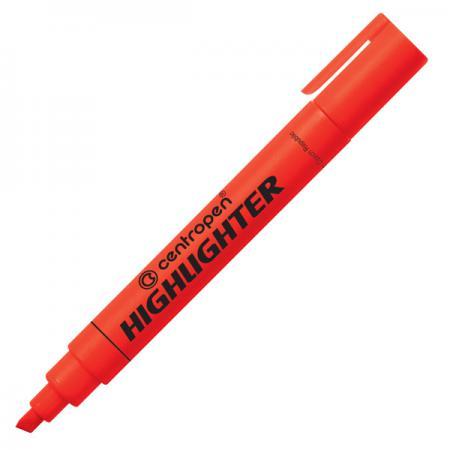 Маркер флуоресцентный Centropen 8852/1К красный  8852/1К маркер флуоресцентный centropen 8852 1к красный