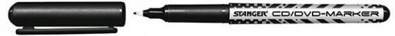 Маркер перманентный Stanger 710001 0.5 мм черный 03388 BLACK