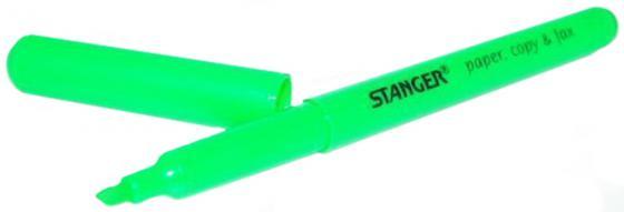 Текстмаркер Stanger 1 мм зеленый 12632 18-00-69 текстмаркер stanger 1 мм голубой 18 00 59