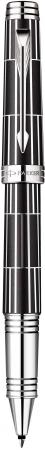 Фото - Ручка-роллер Parker Premier Luxury F565 Black CT черный посеребренные детали, F S1876392 ручки parker s1859483