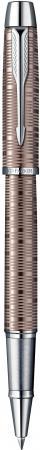 Ручка-роллер Parker IM Premium Brown Shadow CT черный F S1906781 hidesign business parker 01 parker 01 brown