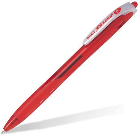 Шариковая ручка автоматическая Pilot REXGRIP красный 0.3 мм BPRG-10R-F-R new original 5point npn input 5point relay output xc1 10r c plc dc24v 1com