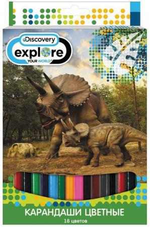 Набор цветных карандашей Action! Discovery 18 шт DV-ACP105-18 DV-ACP105-18 action discovery 2 3 шт