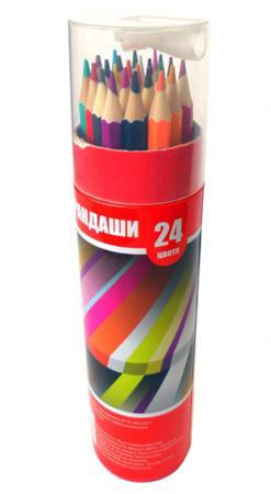 цена на Набор цветных карандашей Action! ACP103-24 24 шт ACP103-24