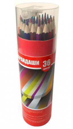 Набор цветных карандашей Action! ACP103-36 36 шт набор цветных карандашей action fancy 36 шт fcp101 36 fcp101 36