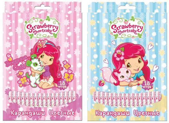 Набор цветных карандашей Action! Strawberry Shortcake 18 шт SW-ACP205-18 набор цветных карандашей action strawberry shortcake 6 шт sw acp205 06 sw acp205 06
