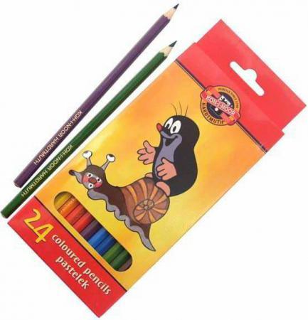 Набор цветных карандашей Koh-i-Noor КРОТ 24 шт 3654/24 26KS 3654/24 26KS elasun 24