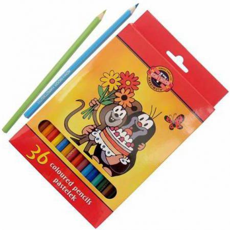 Набор цветных карандашей Koh-i-Noor КРОТ 36 шт 17.5 см 3655/36 26KS 3655/36 26KS