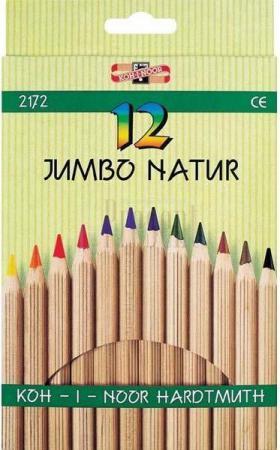Набор цветных карандашей Koh-i-Noor JUMBO NATUR 18 шт 2173N/18 2173N/18