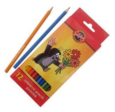 цена Набор цветных карандашей Koh-i-Noor Крот 12 шт 3652/12 26KS 3652/12 26KS