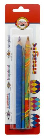 Набор цветных карандашей Koh-i-Noor Magic 3 шт 9038 9038 набор угольных карандашей koh i noor gioconda 3 шт