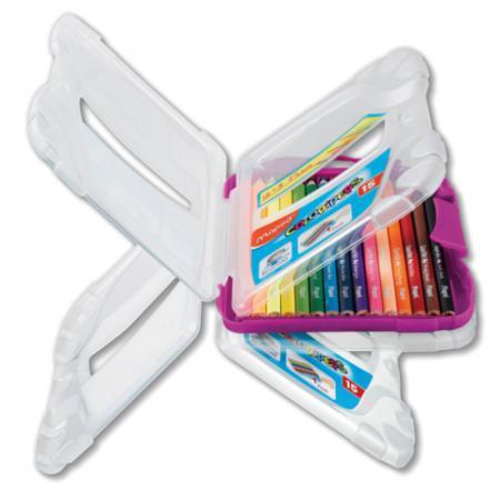 Набор цветных карандашей Maped Color Peps 12 шт 17.5 см 832032 карандаши набор 15цв maped мапед color peps в пластиковом пенале