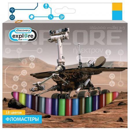 Набор фломастеров Action! Discovery 18 шт разноцветный DV-AWP105-18 в ассортименте DV-AWP105-18 action discovery 2 3 шт