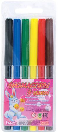 Набор фломастеров Action! Fancy 6 шт разноцветный FWP129-06