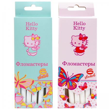 Набор фломастеров Action! Hello Kitty 6 шт разноцветный HKO-AWP205-6 в ассортименте HKO-AWP205-6 набор фломастеров action hello kitty 12 шт разноцветный hko awp205 12 в ассортименте