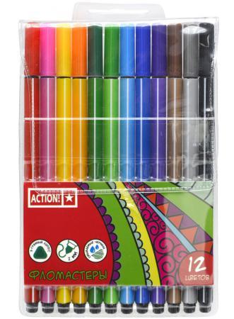 Набор фломастеров Action! AWP151-12 2 мм 12 шт разноцветный AWP151-12 набор фломастеров action awp151 12 2 мм 12 шт разноцветный awp151 12 page 5