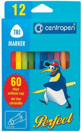 Набор фломастеров Centropen 2510/12 3.5 мм 12 шт разноцветный 2510/12 цена
