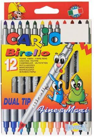цена на Набор фломастеров Universal CARIOCA BIRELLO 2.5 мм 12 шт разноцветный 41457/12 41457/12