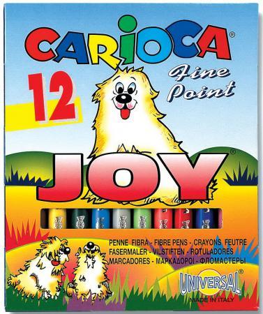 цена на Набор фломастеров Universal CARIOCA JOY 1 мм 12 шт разноцветный 40614/12 40614/12