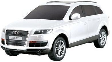 Машинка на радиоуправлении Rastar Audi Q7 21,6х9,2х7,2см ассортимент от 5 лет пластик в ассортименте 27300 rastar 1 24 audi q7 серебро 27300