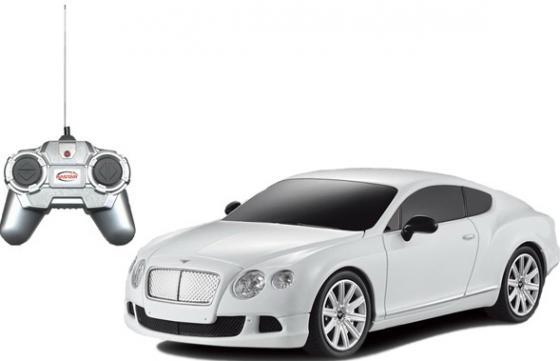 Машинка на радиоуправлении Rastar Bentley Continental GT speed 1:24 ассортимент от 5 лет пластик в ассортименте 48600 welly 24018 велли модель машины 1 24 bentley continental supersports
