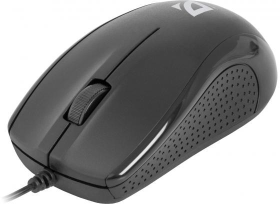 все цены на Мышь проводная DEFENDER Optimum MB-160 чёрный USB 52160 онлайн