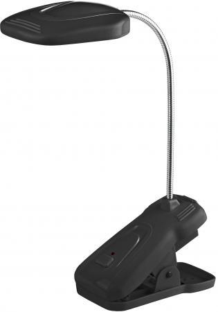 Настольная лампа ЭРА NLED-420-1.5W-BK черный лампа настольная эра nled 454 9w bk