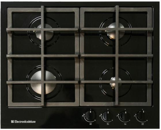 Варочная панель газовая Electronicsdeluxe TG4 750231F-028 черный electronicsdeluxe tg4 750231 f 028 чр