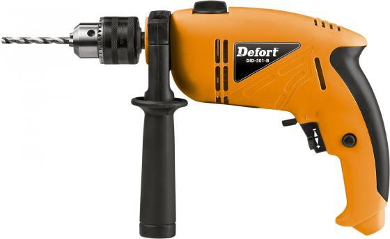 Ударная дрель Defort DID-501-B 500Вт defort dps 17n