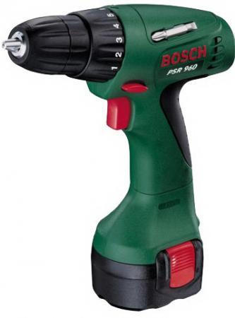 Аккумуляторная дрель-шуруповерт Bosch PSR 960 0603944669 цена и фото