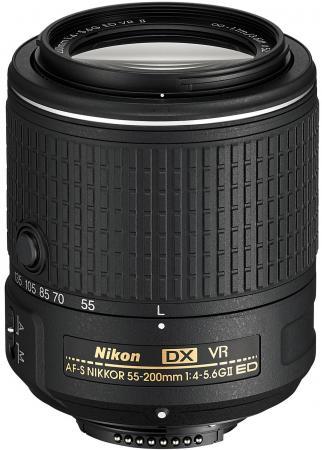 Объектив Nikon AF-S DX Nikkor G ED VRII 55-200мм F/4.5-5.6 JAA823DA free shipping new and original for niko lens af s nikkor 70 200mm f 2 8g ed vr 70 200 protector ring unit 1c999 172