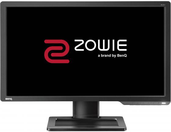 """Монитор 24"""" BENQ XL2411 ZOWIE черный cерый TN 1920x1080 350 cd/m^2 1 ms DVI HDMI VGA Аудио BQ9H.LELLB.RBE"""