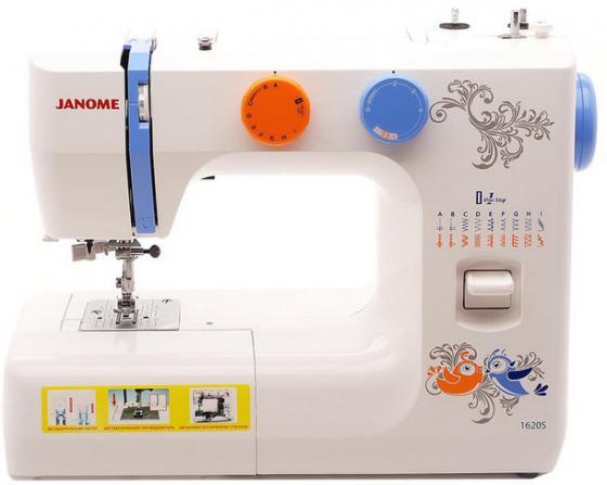 Швейная машина Janome 1620S белый швейная машинка janome 1620s белый