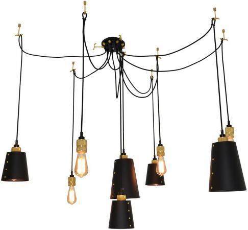Подвесная люстра Lussole Loft LSP-9869 подвесной светильник lussole loft lsp 9869