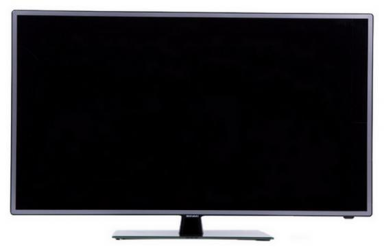 Телевизор 24 SHIVAKI STV-24LED14 серебристый 1366x768 50 Гц SCART VGA HDMI USB телевизор 24 akai lea 24b52p черный 1920x1080 usb hdmi scart vga