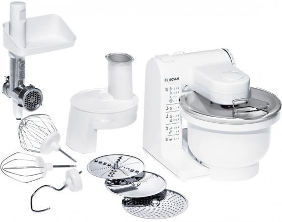 Кухонный комбайн Bosch MUM 4406 500Вт 2.2л 3 насадки белый