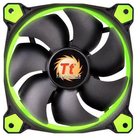 цены на Вентилятор Thermaltake Fan Tt Riing 12 120x120x25 3pin 18.7-24.6dB зеленая подсветка CL-F038-PL12GR-A