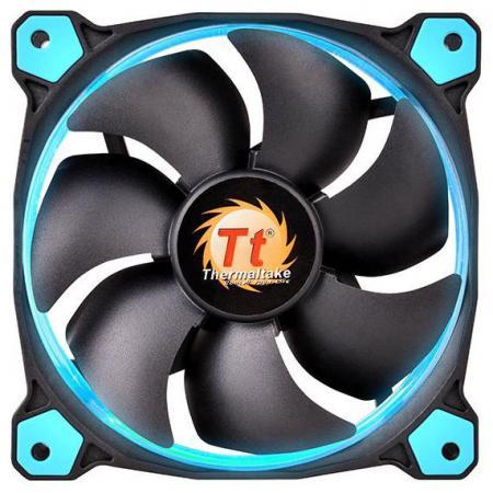 Вентилятор Thermaltake Riing 14 140x140x25 3pin 22.1-28.1dB синяя подсветка CL-F039-PL14BU-A вентилятор thermaltake fan tt riing 14 led 140mm blue cl f039 pl14bu a