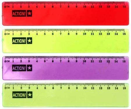 Линейка Action! APR15/TF 15 см пластик в ассортименте [show z store] badcube ost 09 grump g1 tf action figure